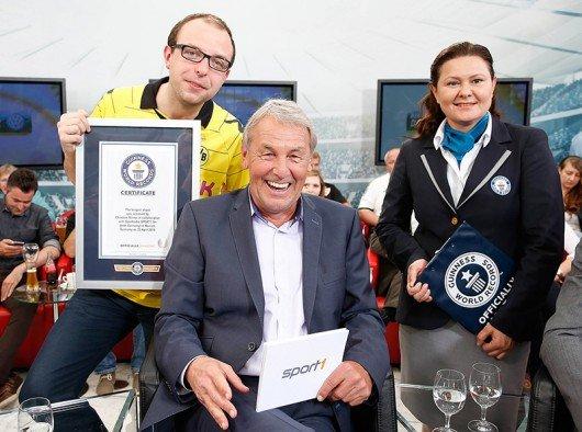 Christian Kinner, Jörg Wontorra und Seyda Subasi-Gemici (Bild_ sport1.fm)