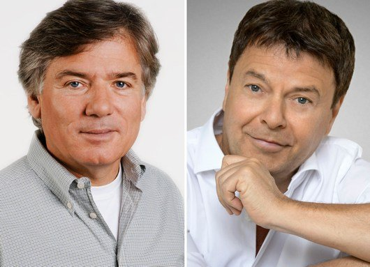 Heinz Günter Heygen (links) und Jörg Bombach (Bild: hr)