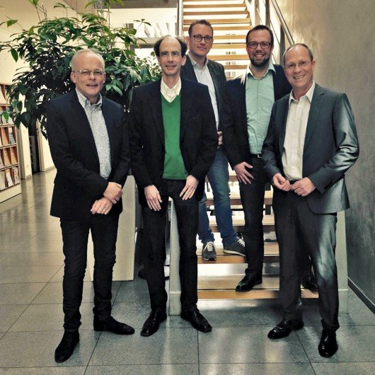 Neuer VdC-Vorstand: Thorsten Wagner, Frank Haberstroh, Andreas Kramer, Thorsten Kabitz, Gerd Heistermann) (Bild: VdC)