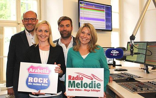 Donnerstag startet Arabella Rock und Radio Melodie im Wiener Digitalradio (Bild: Radio Arabella GmbH)