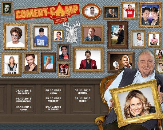 Comedy-Camp-Tour 2015. Quelle: NRW-Lokalradios