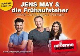 Jens May und die Frühaufsteher