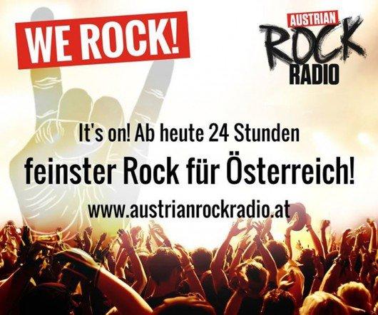 AUSTRIAN ROCK RADIO auch bei Facebook