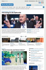 Neue Website des Deutschlandfunks