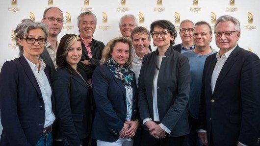 Gruppenfoto der Radiopreis-Jury 2015. Foto: © Grimme Institut / Jack Ackenhausen