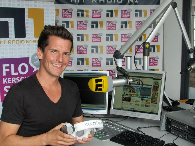 Flo Kerschner von Hit Radio N1 hat mit seinem Team besonders viele Hörer dazu gewonnen.