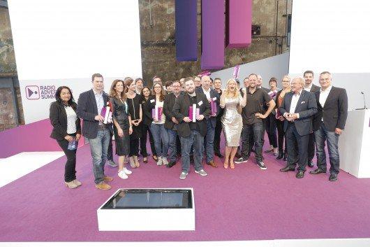 Die Gewinner des Radio Advertising Award 2015.