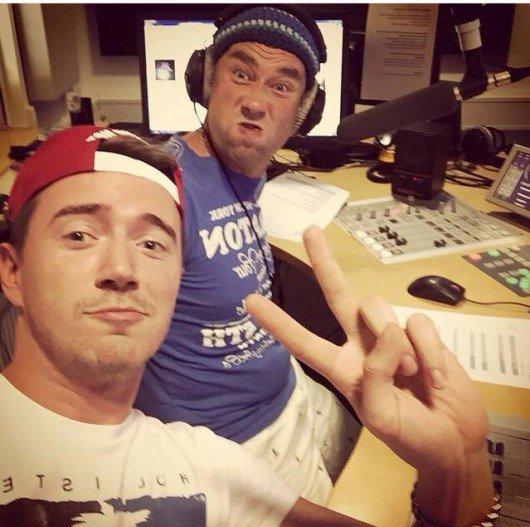 Ein Instagram-Bild hat es verraten: Rob Green jetzt bei bigFM