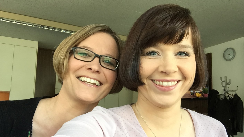 Sandra Müller und Katharina Thoms (Bild: SWR)