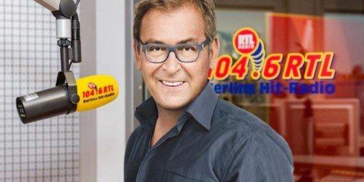 Arno Müller gehört zur Berliner Prominenz und ist beliebtester Moderator der Stadt (Bild: 104.6 RTL)