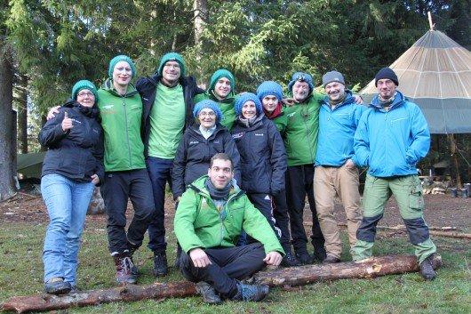 Gruppenfoto des Teams vom Schwarzwaldcamp. Foto: Funkhaus Ortenau.