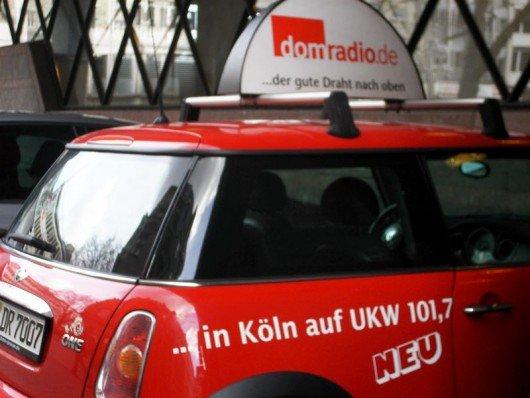 Firmenwagen von Domradio (Bild: ©Hendrik Leuker-03/15)