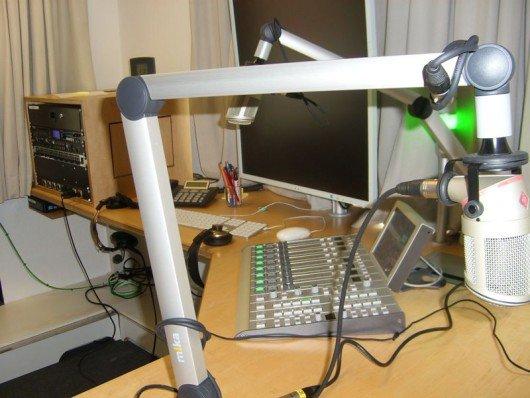 Produktionsstudio von Domradio (Bild: ©Hendrik Leuker-03/15)