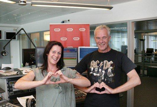 RADIO SAW Muckfucks Jana Lammich und Volker Haidt im Studio 3 (Bild: Radio SAW)
