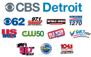 CBS Radio, Detroit
