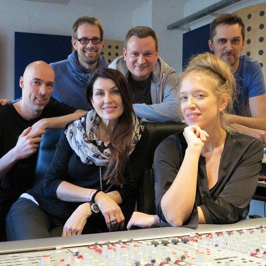 Bei den Gesangsaufnahmen für das KRONEHIT-Jinglepaket (Foto: Thomas Wollert)