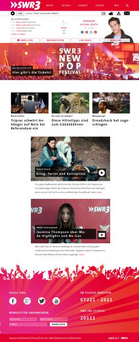 Swr3 Homepage