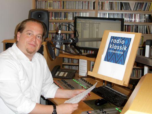 Christoph Wellner, Geschäftsführer  radio klassik Stephansdom (Bild: Hendrik Leuker-06/15)