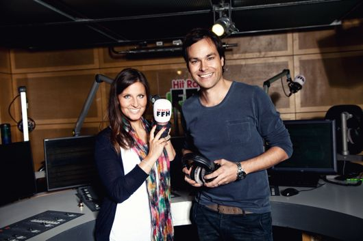 Julia Nestle und Daniel Fischer moderierten schon 2005 zusammen (Bild: ©FFH)