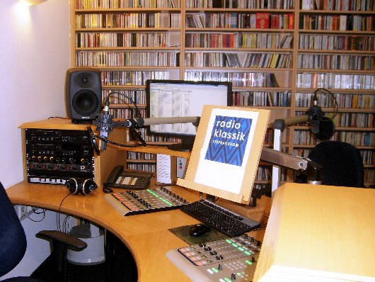 Produktionsstudio radio klassik Stephansdom (Bild: Hendrik Leuker-06/15)