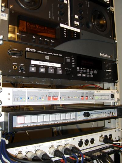 Technikraum von radio klassik Stephansdom (Bild: Hendrik Leuker-06/15)