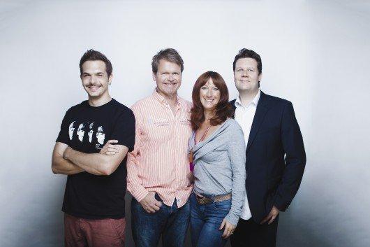 Das Morningshow-Team von alsterradio 106,8