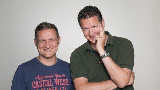 Stefan Schwabeneder und Stefan Kreutzer. Bild: BR/Markus Konvalin