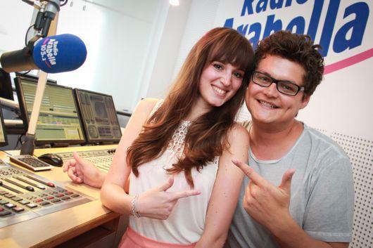 Steffi Schuengel und Wetterhuber (BIld: Radio Arabella)