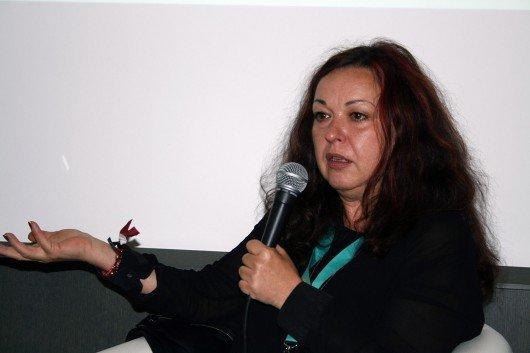 Monika Eigensperger, Senderchefin FM4, auf dem Reeperbahn Festival 2015 (Bild: Inge Seibel)
