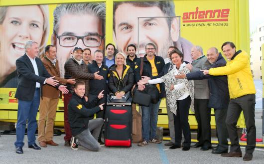 Antenne Steiermark startet Mission Kran (Bild: GEPA pictures/ Christian Walgram)