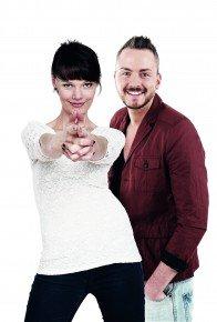 Franziska Mühlhause und Julian Mengler. Foto: ENERGY Sachsen