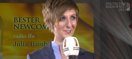 Julia Bamberg (Bild: Deutscher Radiopreis)