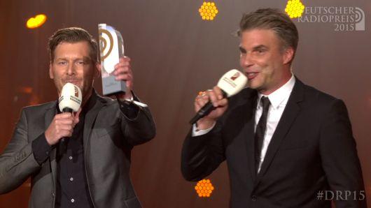 Andreas Kuhlage und Jens Hardeland (Bild: Deutscher Radiopreis)