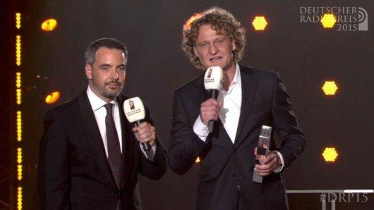 Matthias Pfaff und Marco Brandt (Bild: Deutscher Radiopreis)