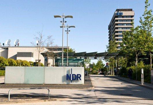 Haupteingang vom NDR in Hamburg Lokstedt (Bild: NDR/Gita Mundry)