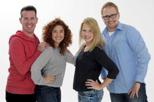 Michael Brockordt, Sandra Samper, Steffi Müller, Carsten Kulawik (Bild: Andreas Fischer)