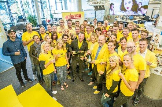 Das Team von Antenne Steiermark. Foto: Christopher Jörgler