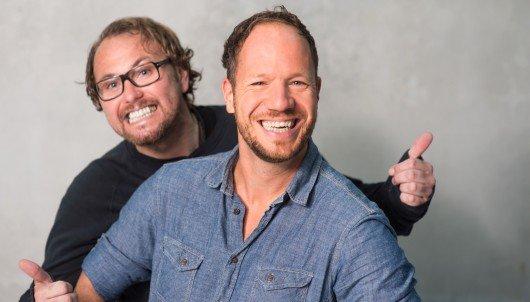 Olaf Rathje und Roland Kanwicher (rechts). Bild: Radio Bremen/Michael Ihle
