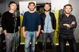 """Revolverheld"" im N-JOY-Studio in Hamburg. Quelle: obs/ARD Radio & TV/Benjamin Hüllenkremer"