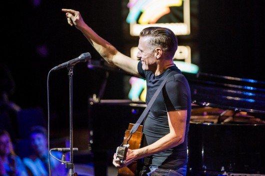 Bryan Adams beim Konzert von Radio Regenbogen
