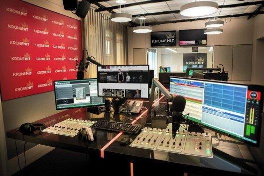 Das neue KRONEHIT-Studio (Bild: KRONEHIT)
