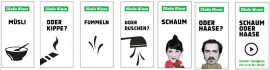 Kampagne DRadio Wissen