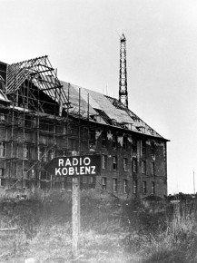 Der Sender Koblenz 1945. Bild: SWR/Tschira