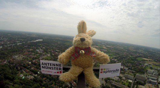 Stratosphären-Aktion Explorado Münster Antenne Münster