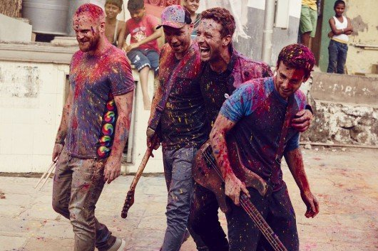 "Coldplay stellt am Dienstag (8. Dezember) bei einem Exklusivkonzert mit HIT RADIO FFH ihr neues Album ""A Head Full Of Dreams"" im Rahmen der ""Telekom Street Gigs"" vor. Foto: Julia Kennedy"