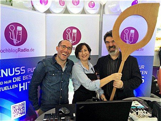 Dr. Tim Faber (Gründer), Barbara Steinbauer-Groetsch (Foodkorrespondentin vor Ort Niederlande), Roland Rosenbauer (Genuss-Chefredakteur). (Bild: Petra Hola-Schneider)