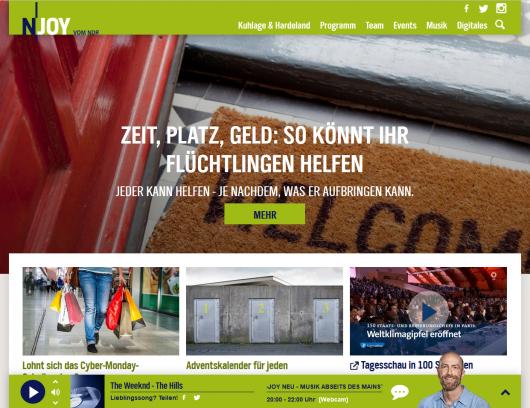Screenshot n-joy.de