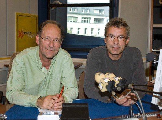 Stefan Siller (li.) und Wolgang Heim. Bild: SWR/Alexander Kluge.