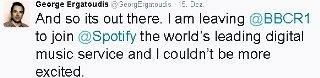 Georg Ergatoudis' Tweet