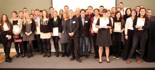 Die Verleihung des Radiosiegels 2015.